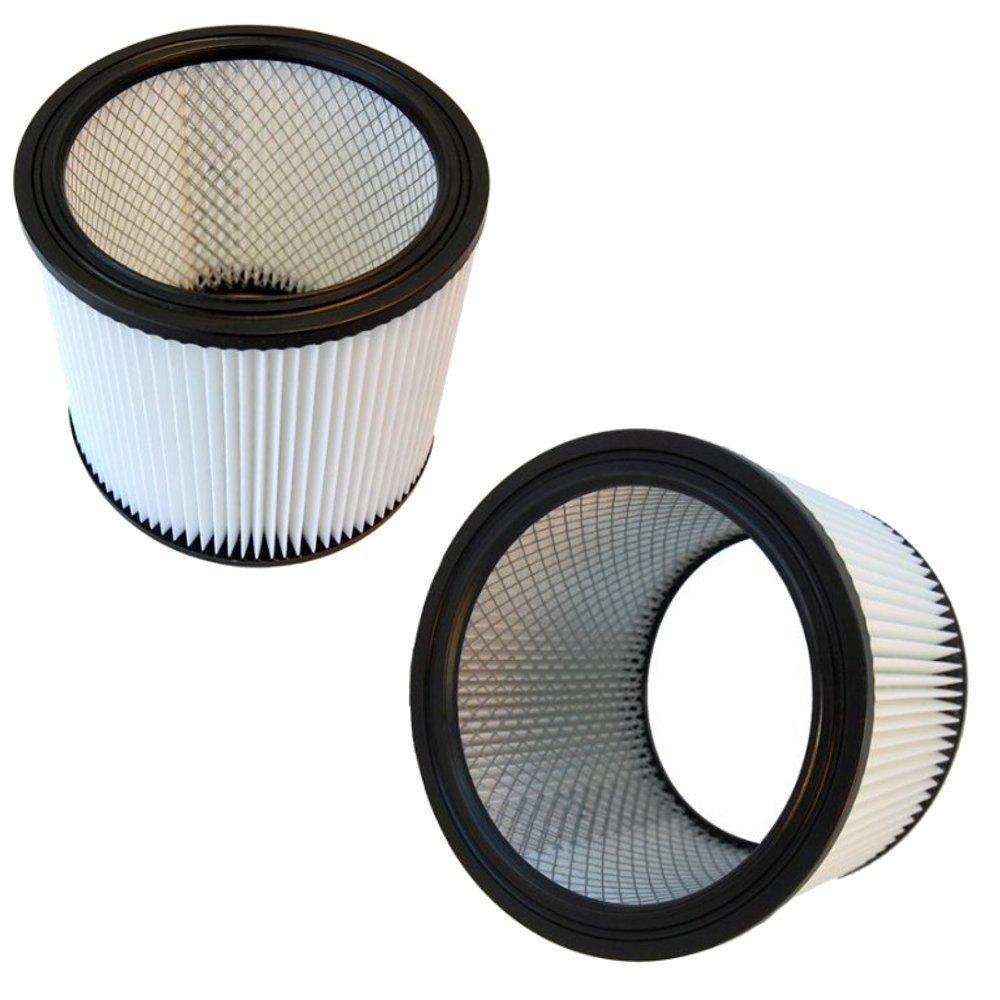 HQRP 2-Pack HEPA Cartridge Filter fits Shop-Vac 960-98-10/9609810 Vac Industrial Series Coaster