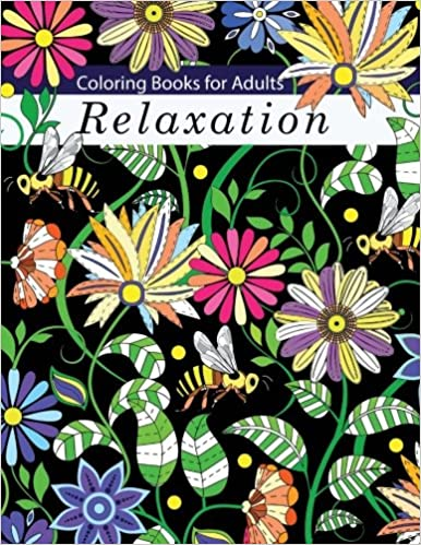 Amazon Coloring Books For Adults Relaxation Adult Flowers Animals And Garden Designs 9781940282893