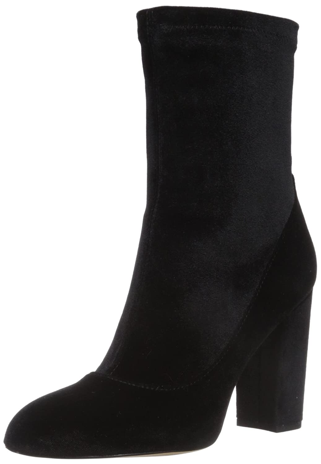 Sam Edelman Women's Calexa Fashion Boot B071R53CX4 9.5 B(M) US|Black Stretch Velvet