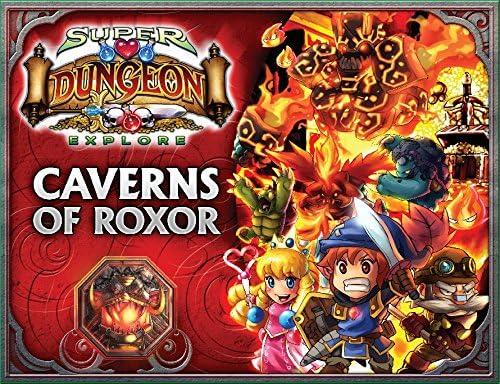 Super Dungeon Explore: Caverns of Roxor - Juego de Mesa (en inglés ...