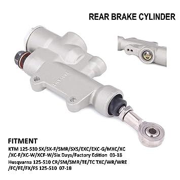 NEW KTM REAR BRAKE MASTER CYLINDER REBUILD PISTON KIT 50 SX MINI ...