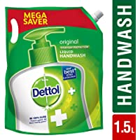 Dettol Liquid Hand wash Refill Original -1500 ml