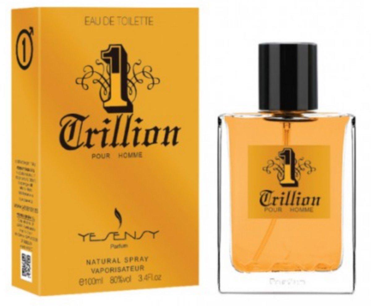 1 Trillion - Parfum Homme GENERIQUE / Odeur EXTREMEMENT proche d'un parfum de LUXE / Noel / St Valentin / Cadeau