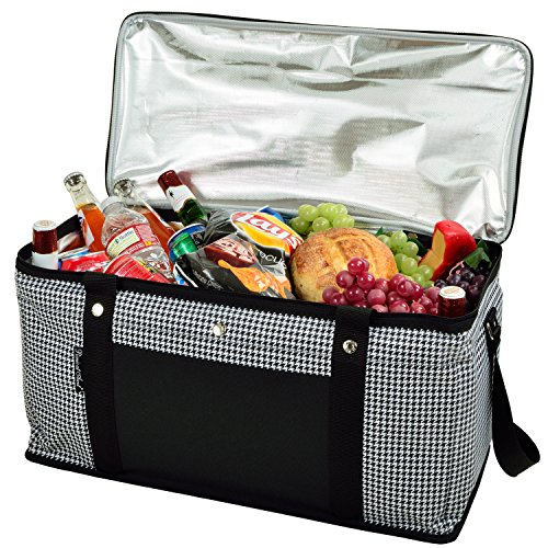 - Picnic at Ascot 64 Can Capacity Semi Rigid Collapsible Leakproof Cooler- Designed & Quality Approved in the USA