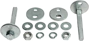 ACDelco 45K18011 Professional Front Caster/Camber Cam Kit with Bolts, Washers, Nuts, and Eccentrics