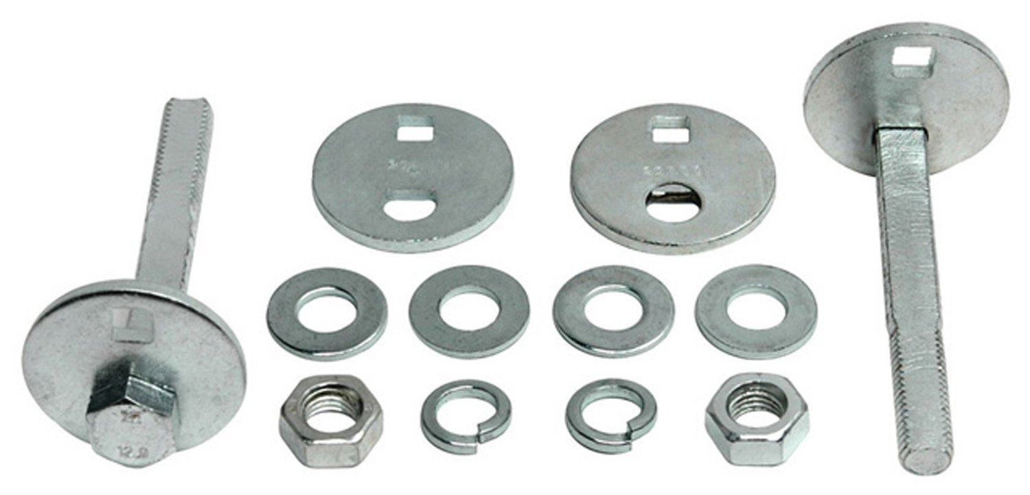 Nuts and Eccentrics ACDelco 45K18011 Professional Front Caster//Camber Cam Kit with Bolts Washers