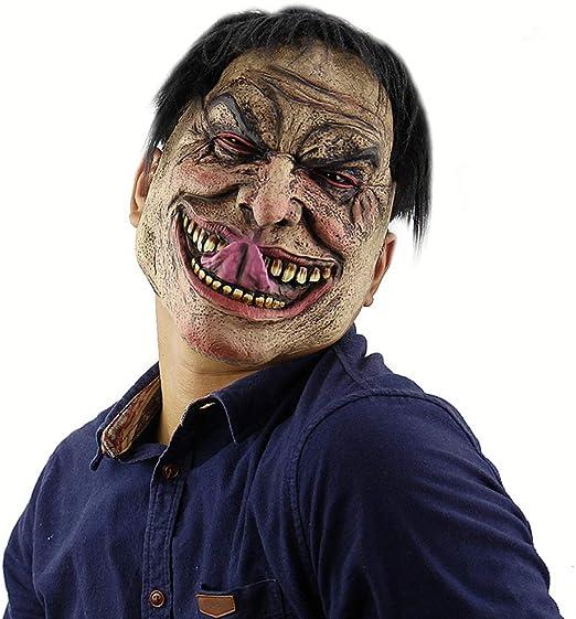Máscara De Halloween,Máscaras De Látex Divertido Hombre ...