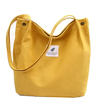 Damen Tasche Groß Canvas Handtasche Kiwitech Umhängetasche yNwvO8n0m