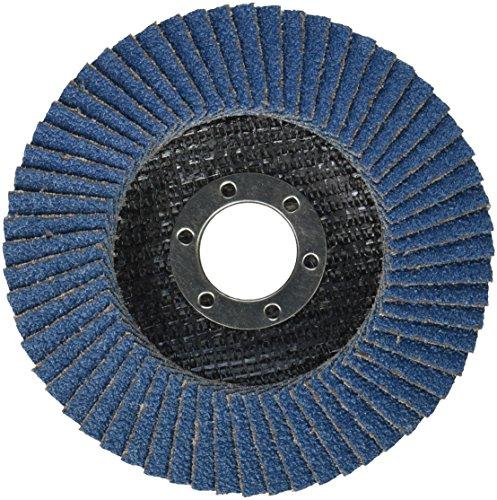 Bosch FD2945040 4-1/2 In. 7/8 In. Arbor Type 29 40 Grit Blending/Grinding Abrasive (Type 29 Flexible Grinding Wheel)