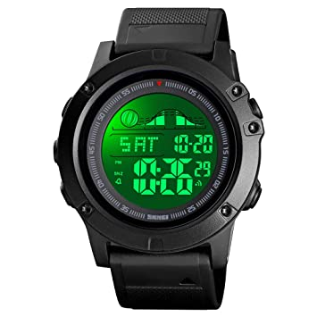 Amazon.com: Venhoo - Reloj digital deportivo con pantalla ...