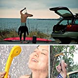 Xcellent Global DC 12V Portable Shower & Water Pump Car Shower Motorcycle Pet Dog Outdoor Camping Fishing Travel Shower Kit AT012