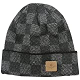 Crooks & Castles Men's Check Beanie