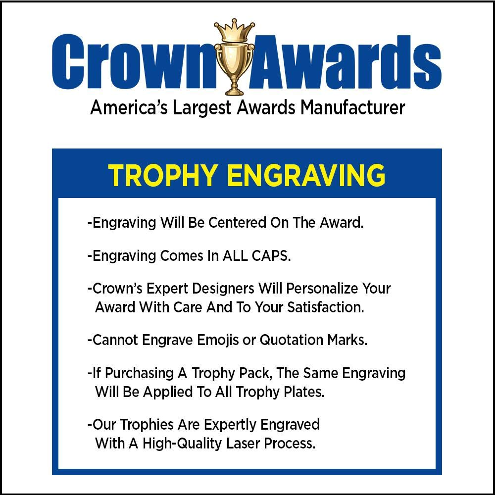 Crown Awards Bowling Goodie Bags, Bowling Favors for Bowling Themed Party Supplies Comes with Personalized Male Lawn Bowling Trophy, Bowling Dog Tag and Bowling Stickers 20 Pack Prime by Crown Awards (Image #1)