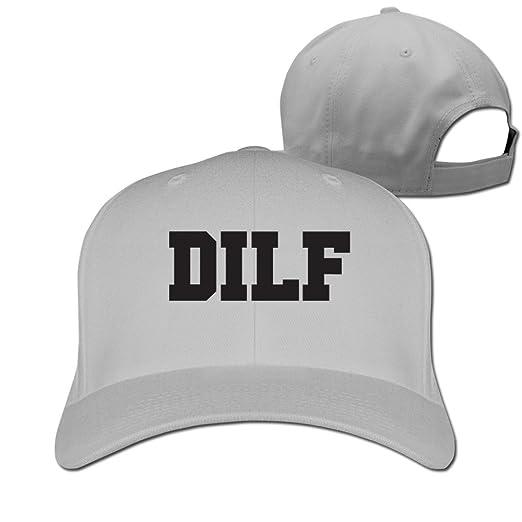 155a8b0a95f Amazon.com  YEARla DILF Dad I d Like To Fuck Peaked Hat Baseball Cap ...