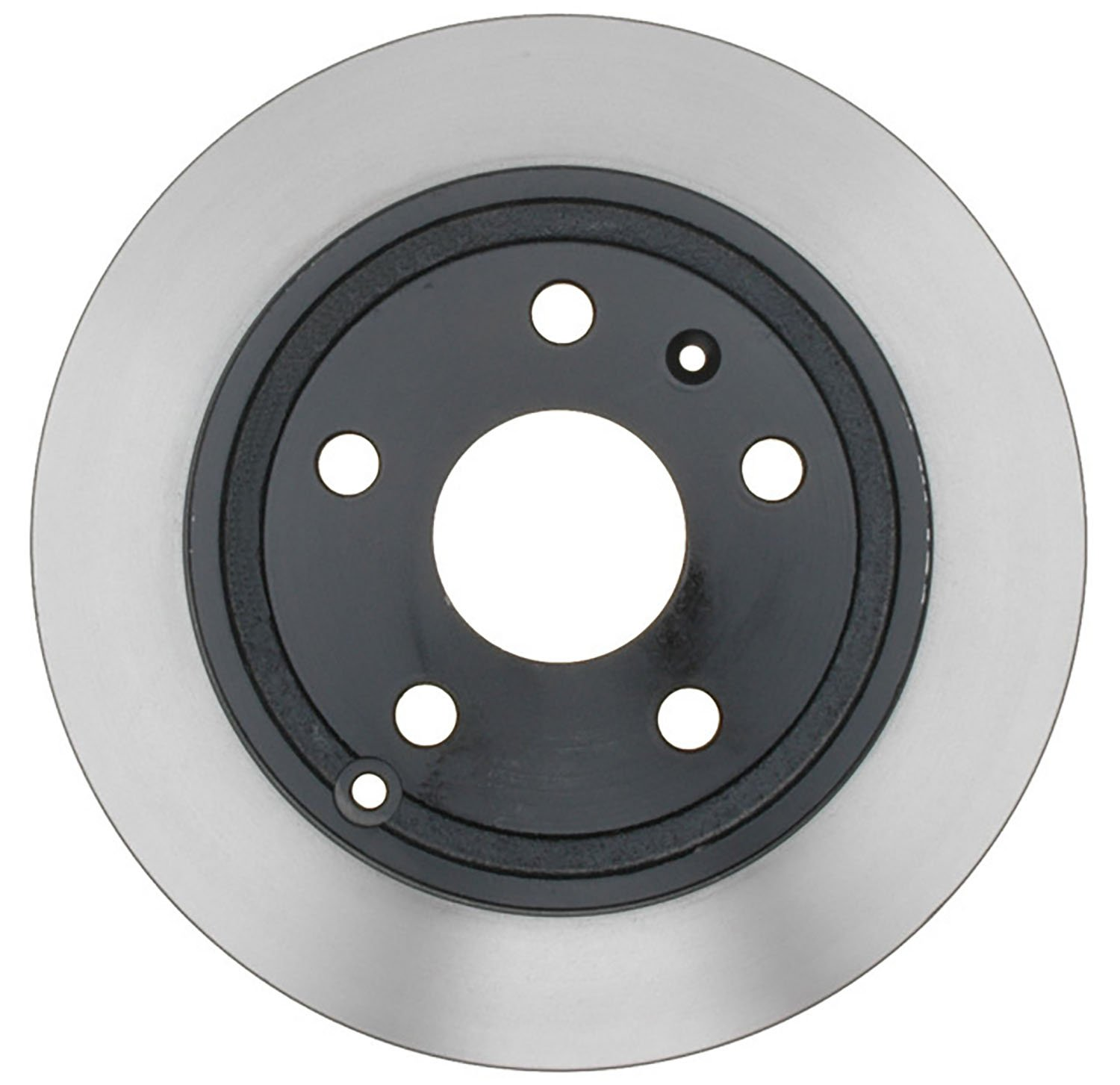 ACDelco 18A2727AC Advantage Coated Rear Disc Brake Rotor