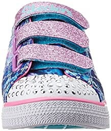 Skechers Toddler (1-4 Years) Twinkle Toes: Chit Chat-Prolifics Blue/Multi Light-Up Sneaker - 10 M US Toddler