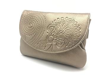 Cartera Portamonedas Monedero para Mujer Marca: Lugupell - Color: Oro Mate (12,5 x 9 cm): Amazon.es: Equipaje