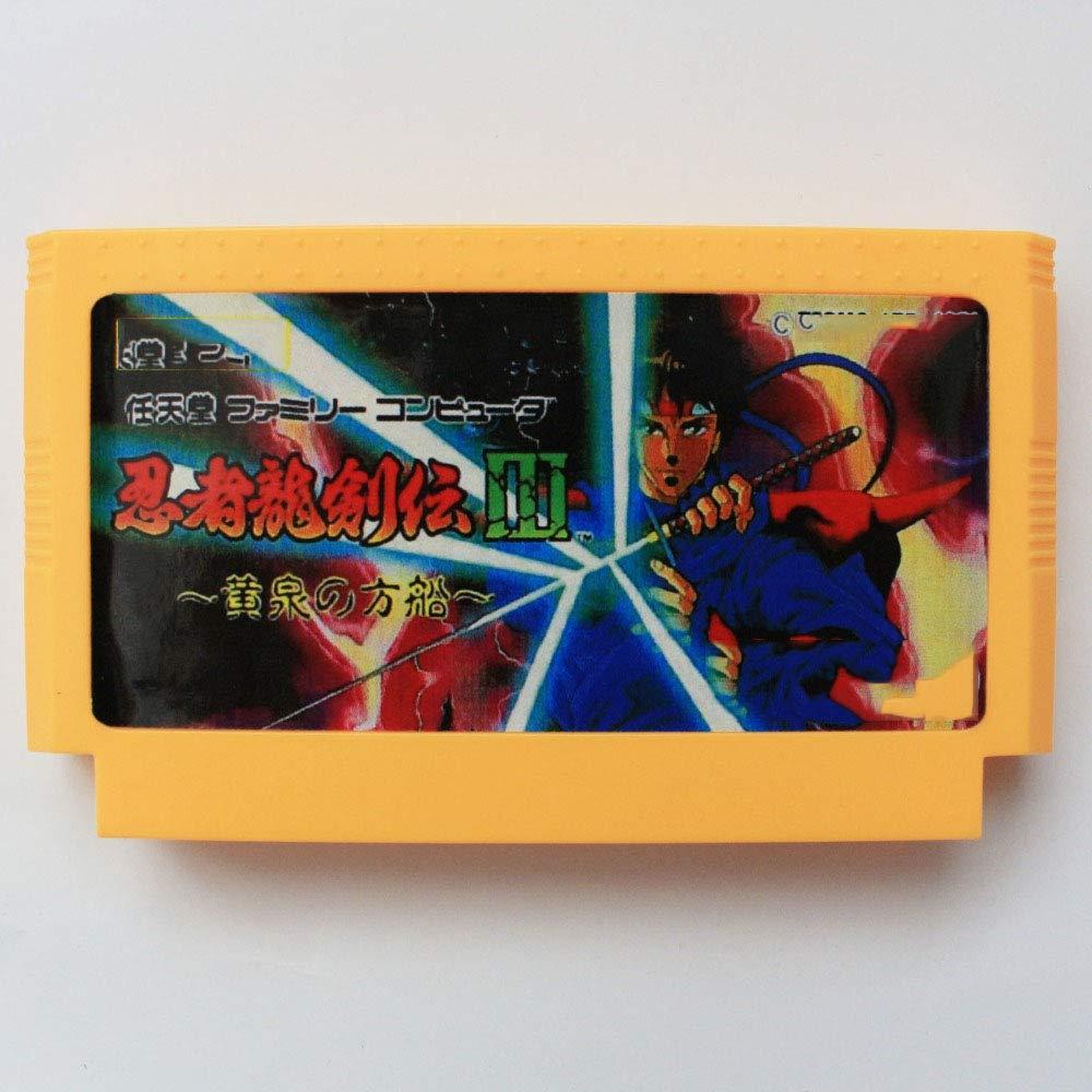 Amazon.com: 60 pin 8 bit game Ninja Gaiden 3 Razors Edge 60 ...