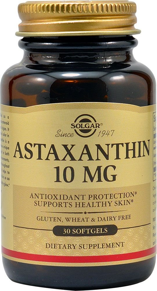 Amazon.com: Solgar Astaxanthin 10 Mg (Double Pack) Softgels: Health & Personal Care