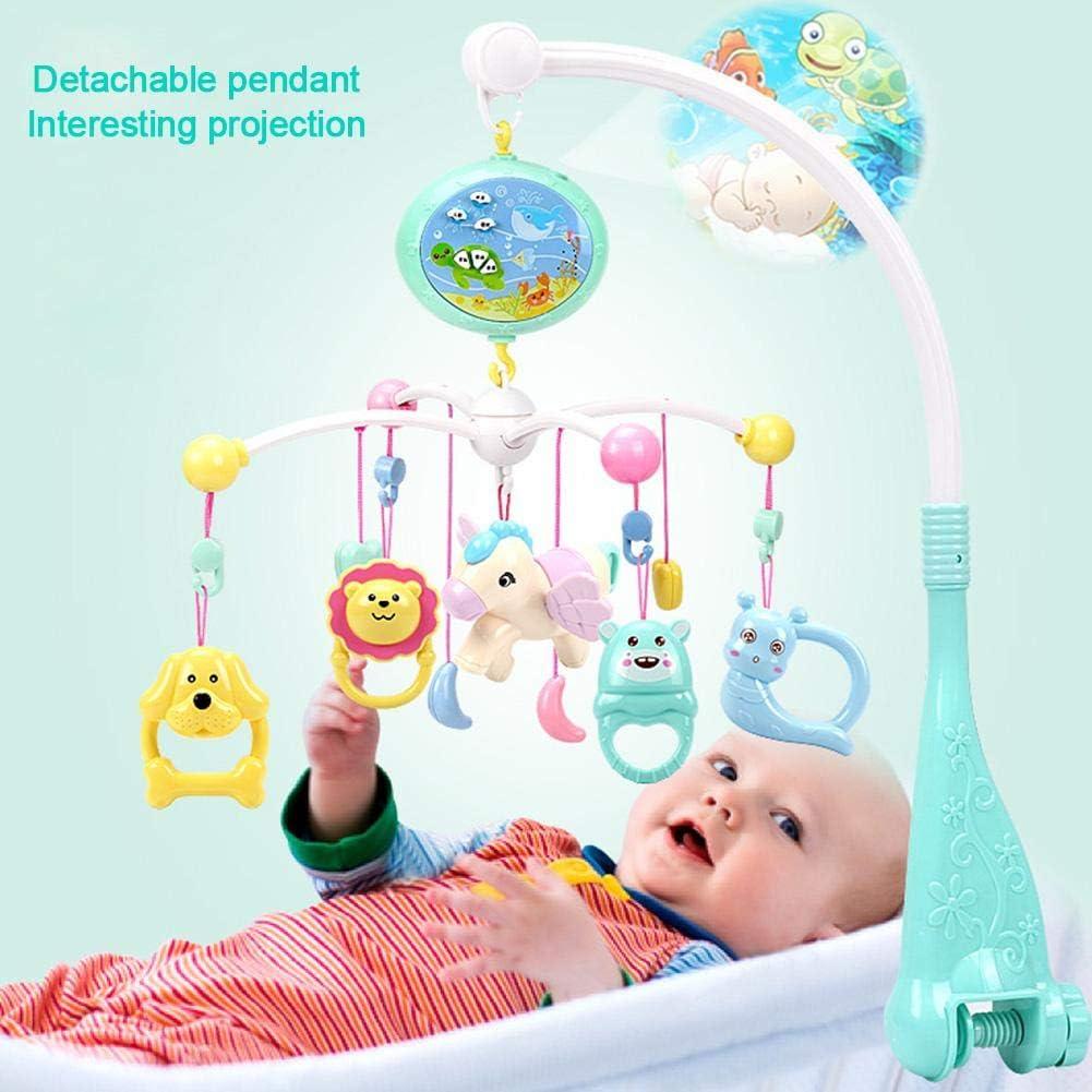 Juguete musical para bebé - Móvil musical para bebé con proyector ...