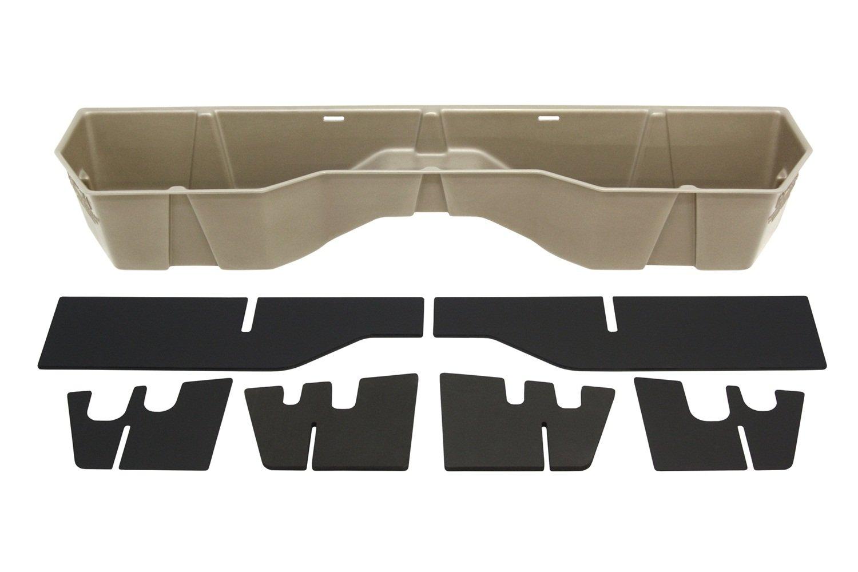 DU-HA Under Seat Storage Fits 04-15 Nissan Titan King Cab & Crew Cab, Dk Gray, Part #40011 DUH:40011