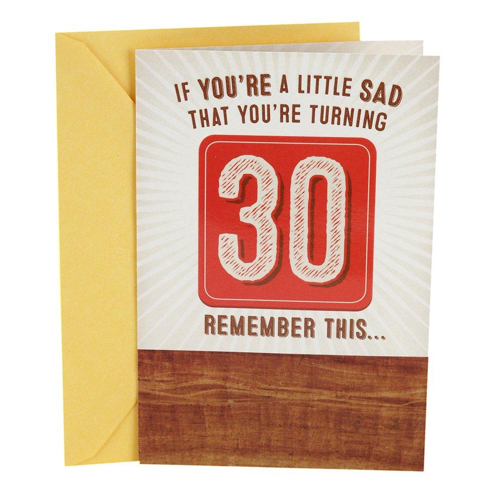 Amazon Hallmark Funny 30th Birthday Pop Up Card Have A Beer