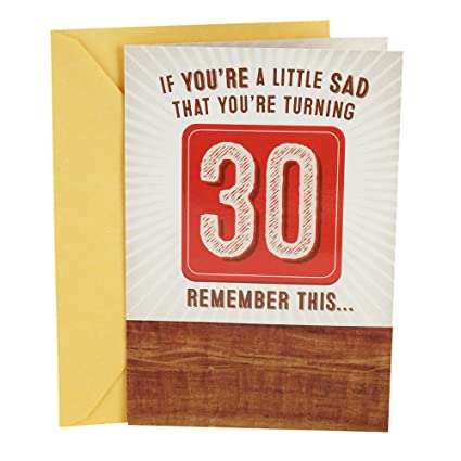 Amazon Hallmark Funny 30th Birthday Pop Up Card Have A Beer