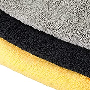 MATCC Microfiber Cleaning Cloth 12 Pack Premium Microfiber Towel 16'' x 16'' Cleaning Cloth for Cleaning Car,Windows,Dishes Etc