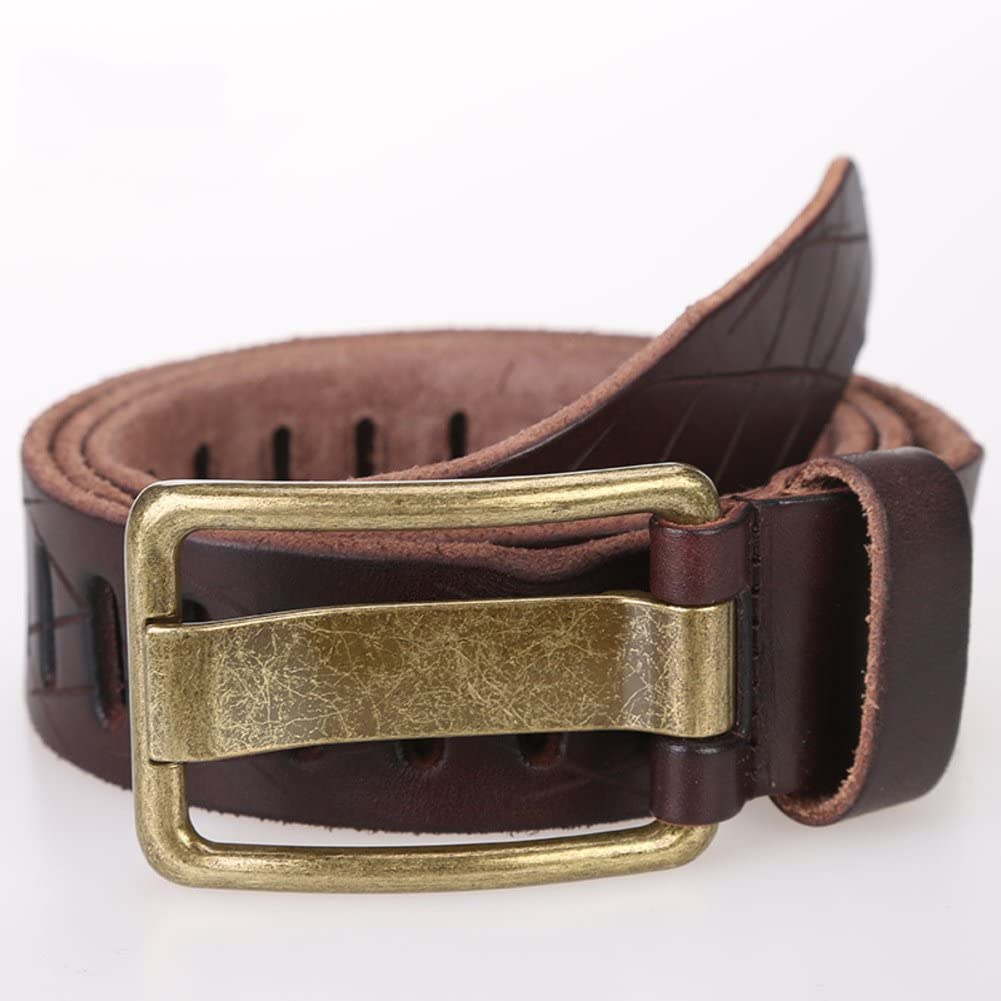Leather Leather Handbag//Fashion Male First Layer Of Leather Belt//Male Youth Tide Male Belt
