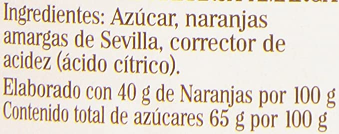 La Vieja Fábrica Naranja Amarga Mermelada - 375 g: Amazon.es: Amazon Pantry