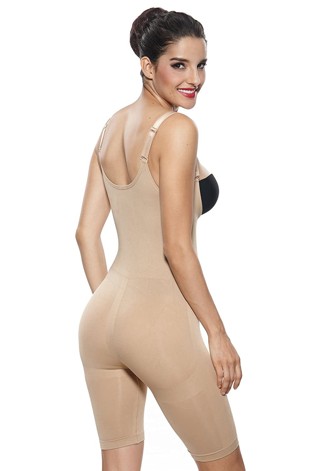 Khaya Womens Underwire Molded Cups Seamless Tank Tops Body Shaper Camisole