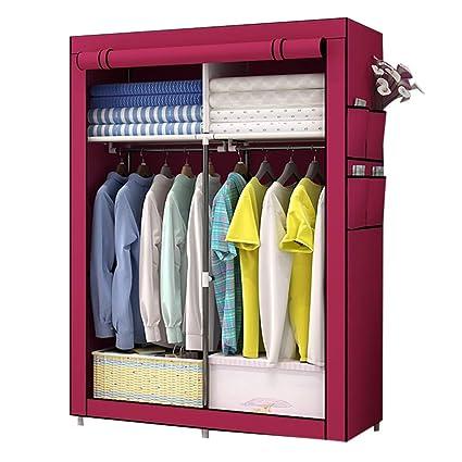 a15f28bdbb84 Amazon.com: Xiao Jian Cloth Wardrobe-Easy Assembly Wardrobe,Simple ...