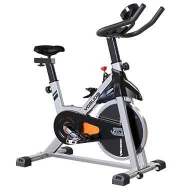 YOSUDA Indoor Cycling Bike Stationary - Cycle Bike Ipad Mount & Comfortable Seat Cushion