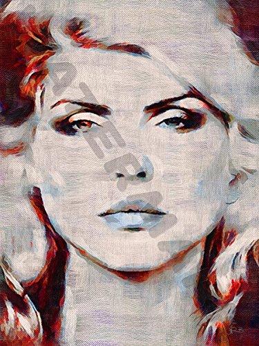 Blondie Debbie Harry 80S Art Print Poster