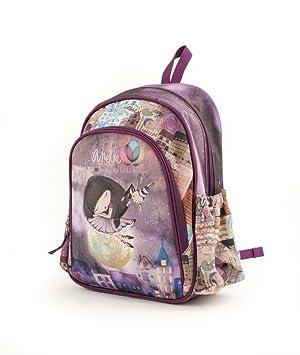Anekke Schulrucksack/Backpack mit 2 Reißverschlussfächern Balerina Mochila Tipo Casual, 35 cm, 12 Liters, (Balerina): Amazon.es: Equipaje