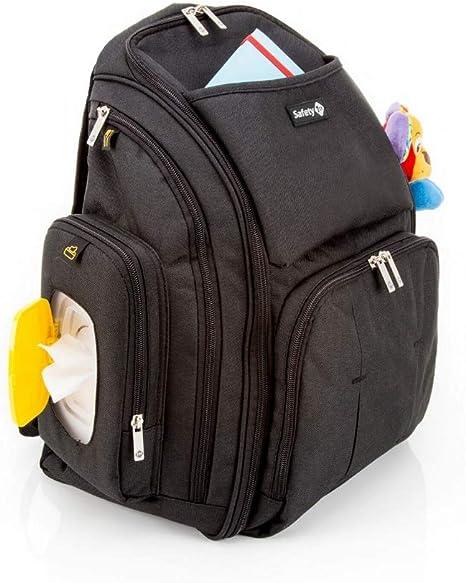 Safety 1st Back Pack Mochila de Pañales Gran Capacidad y Versátil ...