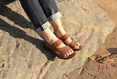 Yellow Scarpe Casual da Sandali da Scarpe da Selvagge Uomo Uomo Aperte Moda Spiaggia 7q7gUY