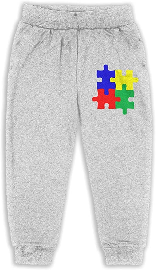 I Love Someone with Autism Unisex Baby Sweatpants Soft Cozy Boys /& Girls Elastic Trousers