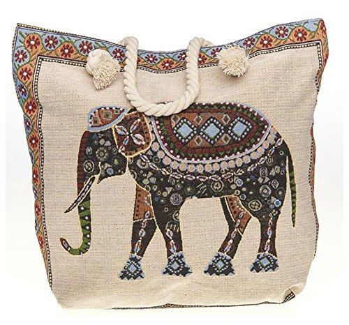 Tote Equilibrium Equilibrium Elephant Tapestry Bag Tapestry Equilibrium Tote Bag Elephant OwqdXfx