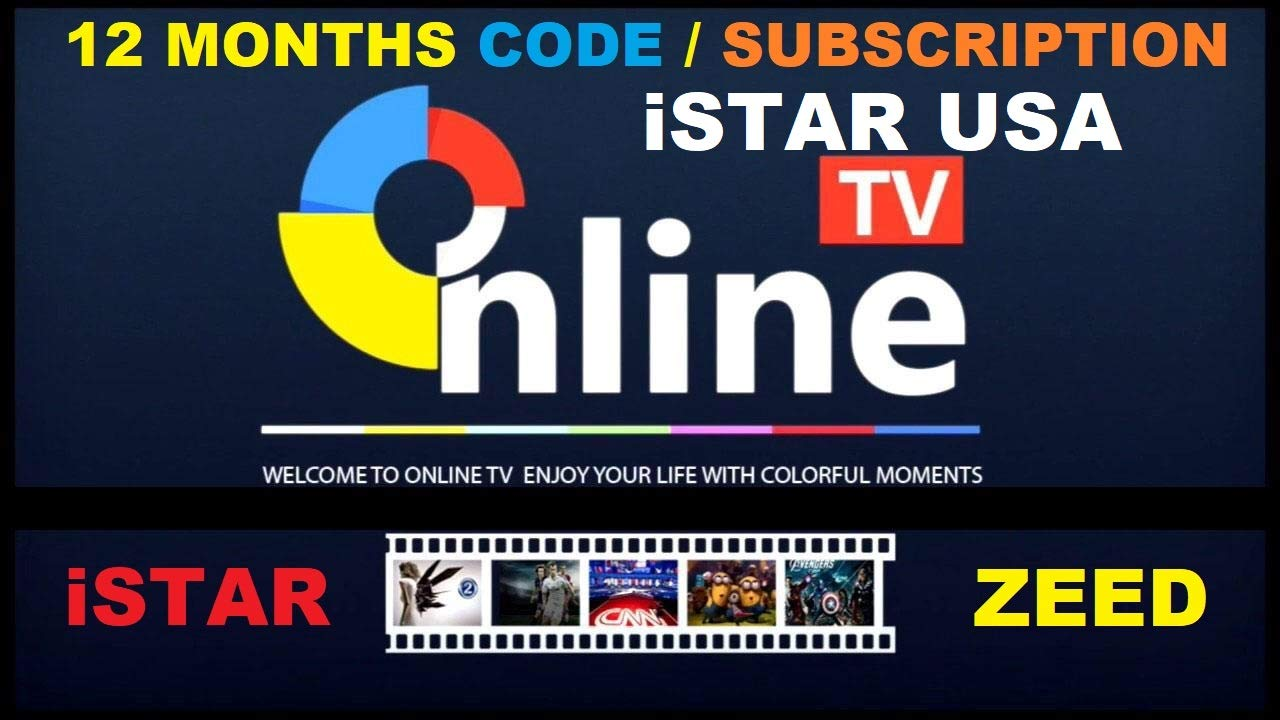 ISTAR Korea One Year Online TV Renew Code Canada