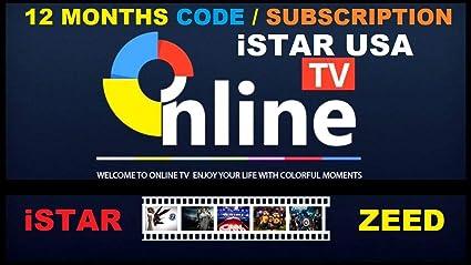 ISTAR Korea One Year Online TV Renew Code Canada