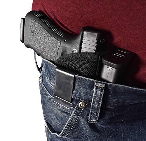 BLUESTONE-Sweat-Repellant-1050-Denier-Special-Ops-Belt-Clip-for-Glock-17-19-22-23-black