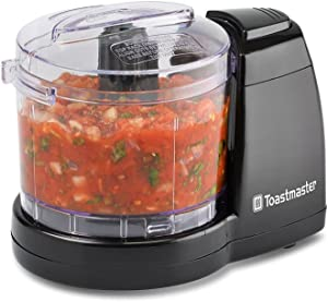 Toastmaster TM-61MC 1.5 Cup One-Touch Mini Food Chopper, Black