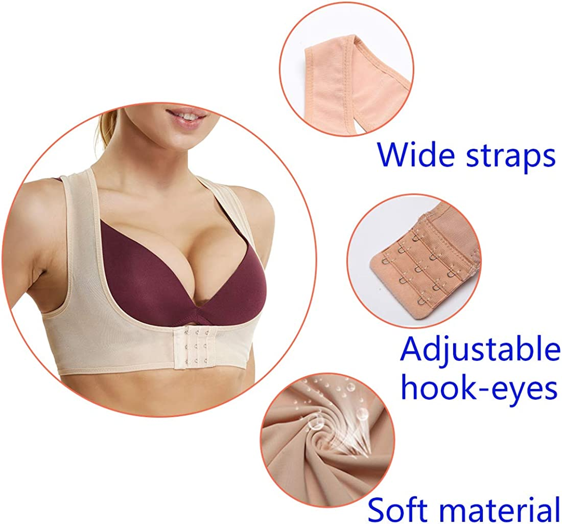 Chest Brace up for Women Posture Corrector Shapewear Tops Back Support Bra Shaper