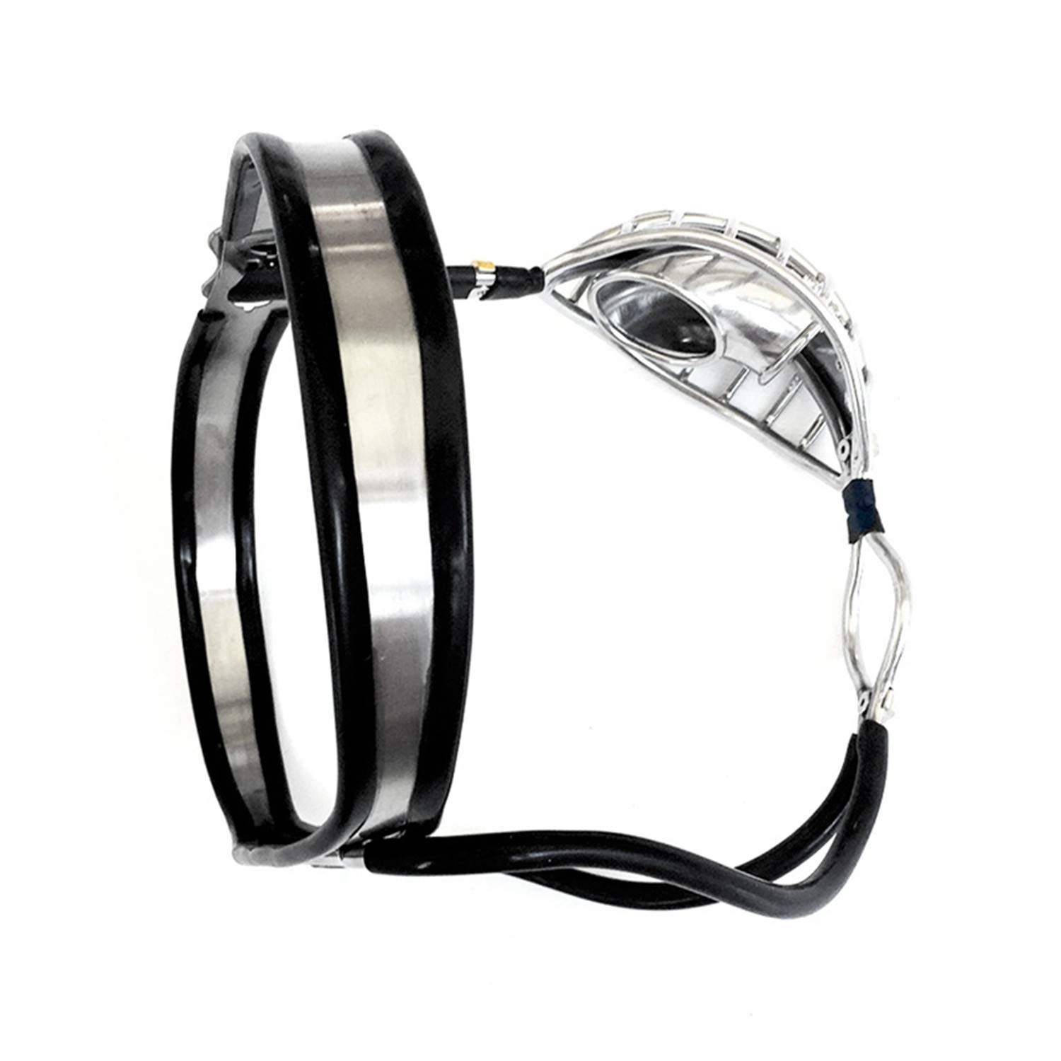 Catheter Sound Male Chastity Chastity Cages Wanyesta Belt Stainless Steel Lock Adult Game CǑck Cage Restraint Device Sěx-Toys For Men by Wanyesta (Image #4)