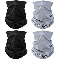 Multifunctionele hoofddeksels Bandana Sjaal - Elastische Tube Sjaal Gezicht Shield Hoofdband Snood UV Resistentie voor…