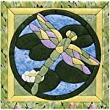 Quilt Magic 12-Inch by 12-Inch Dragonfly Kit