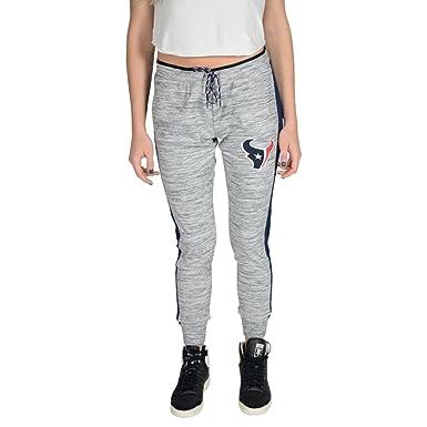 buy popular 05085 0760d Ultra Game NFL Houston Texans Women's Active Basic Fleece Jogger  Sweatpants, Gray, Space Dye, X-Large