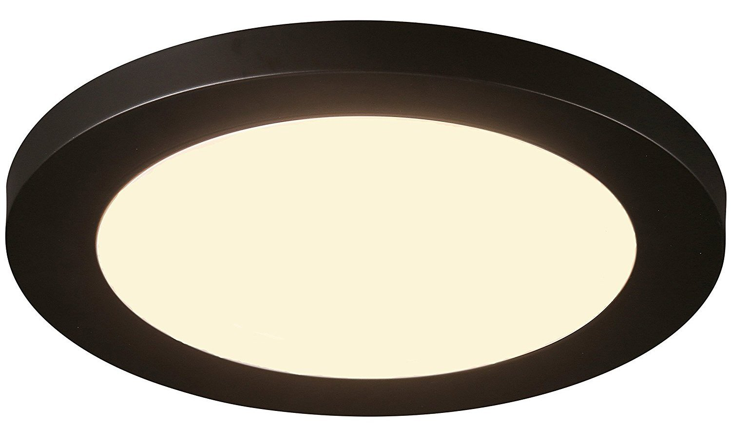 Cloudy Bay 12 inch Ceiling Light LED Flush Mount,17W Dimmable,3000K Warm White,1100lm 120W Incandescent Equivalent,Oil Rubbed Bronze Finish by Cloudy Bay