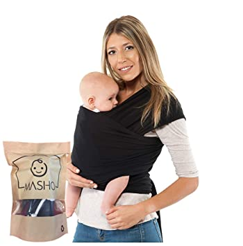 Amazon Com Fular Baby Wrap Carrier Sling Ideal For New Moms Or